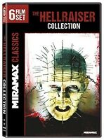 Hellraiser Collection [dvd] Movie, Factory Sealed, New, Free Shipping