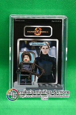 Hunger Games Custom Carded Minifigure Display Mini-Figure PEETA MELLARK