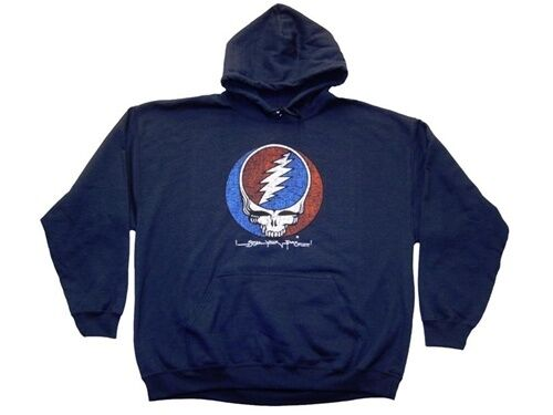 Grateful Dead Steal Your Face Hoodie (size medium) New never been worn  GARCIA