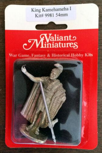 Hawaiian King Kamehameha I Valiant Miniatures 54mm Hobby Kit# 9981 54mm
