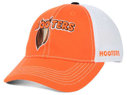 Hooters Ruckus Elite Mesh One Size Stretch Fit Cap Hat - New!