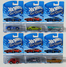 HOT WHEELS COOL CLASSICS C CASE #13 Thru 18  6 - CARS 442 BEETLE CYCLONE *NEW*