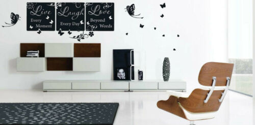 Live Love Laugh House Art  Wall Quotes Wall Stickers Words Phrases Wall Decal