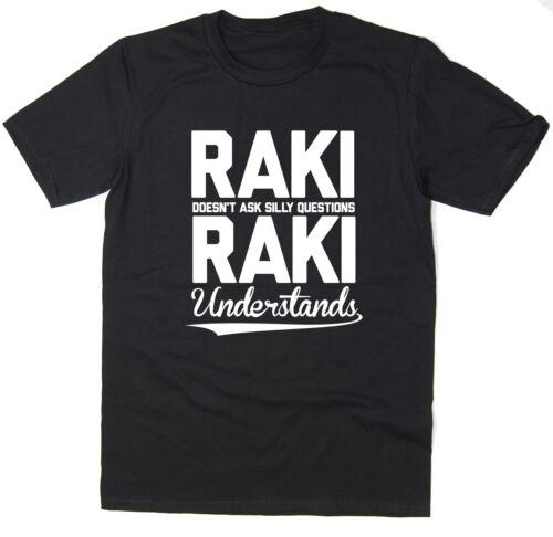 Raki Understands T-Shirt Funny Printed Spirit T-Shirt Available 6 Colours