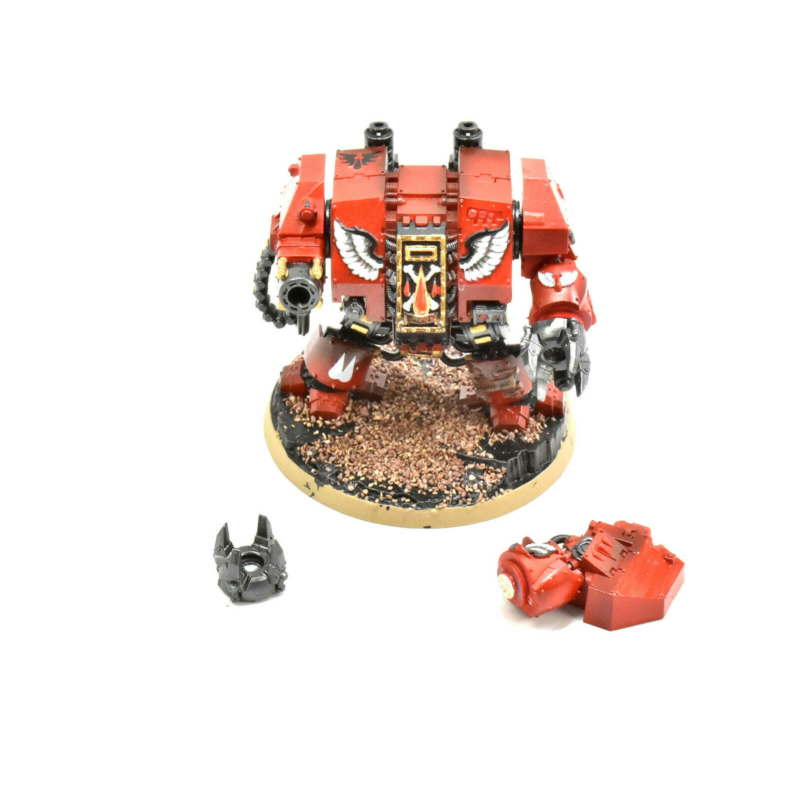 BLOOD ANGELS Furioso Dreadnought WELL PAINTED Warhammer 40K