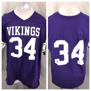 Image is loading Vintage-Rawlings-Minnesota-Vikings-34-XL-Graphic-NFL- 85da9625c