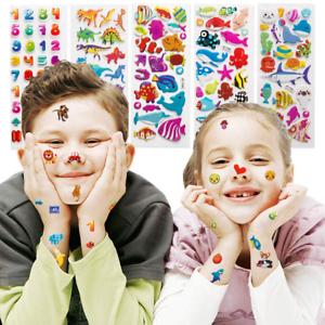 20 sheets Sticker for Kids 3D Puffy Assorted Scrapbook Stickers Cartoon Princess
