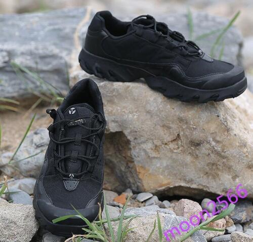 Heren laarzen Ronde schoenen Desert Combat Militaire laarzen neus Sz Outdoor veter Comfy 1Owxf1rZ