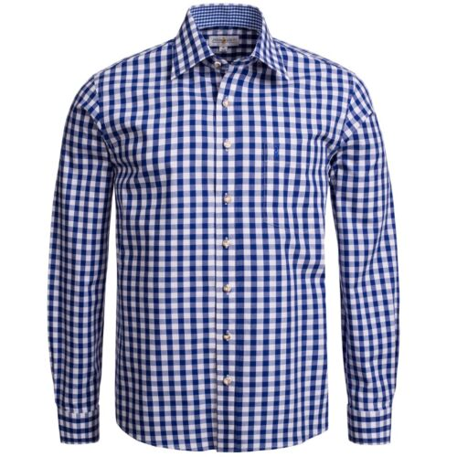 Trachten Shirt Regular Bleu Fit En Fonc x4qSpFxHw