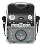 Naxa Bluetooth Two Mic Microphonekaraoke System Machine Cd+g Player