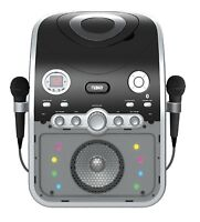 Naxa Bluetooth Two Mic Microphone karaoke System Machine Cd+g Player