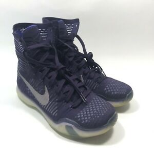 6e84b59bf587 Nike Kobe X 10 Elite Grand Purple Reflective Silver 718763-505 Mens ...