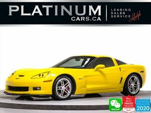 2008 Chevrolet Corvette Z06,7.0L V8 505HP,COUPE,MANUAL,HEADS UP,HEATED