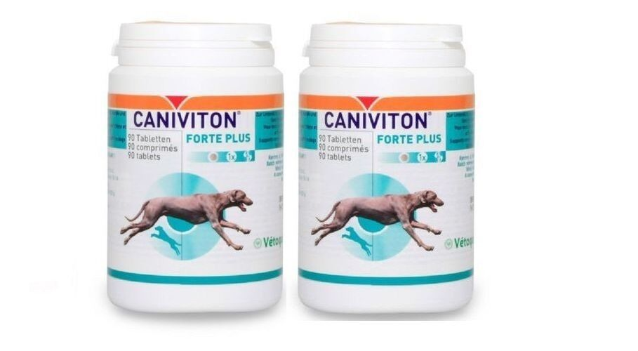 2 STK. 2X90=180 Tabletten Vetoquinol CANIVITON  ORYGINAL MHD 2022 EXTRA PREIS
