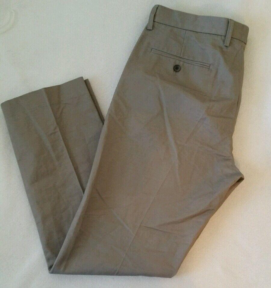 J Crew Factory Mens Bedford pant Dark khaki 34x32 trouser