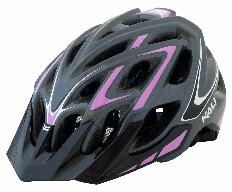 Kali  Predectives Chakra Plus XC Helmet Wisdom Grey Pink  save up to 50%