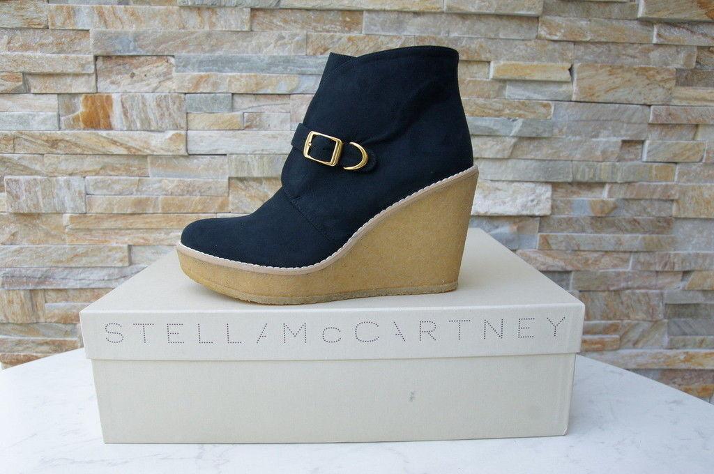 Stella McCartney Dimensione 40 Wedge Ankle stivali  stivali Vegetarians NEW precedentemente  scelta migliore