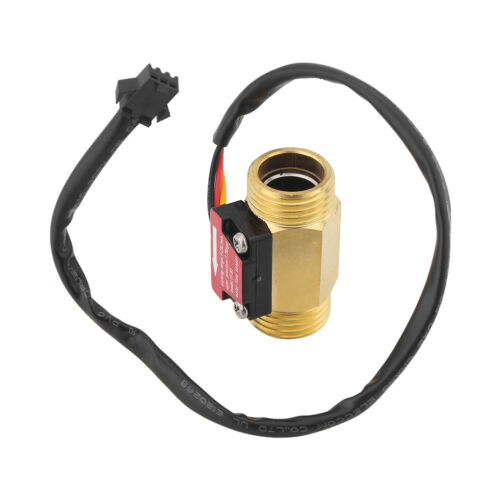 1pc YFB1 Magnetic Durable 1-25L//min Water Flow Sensor Switch G1//2 Thread DH