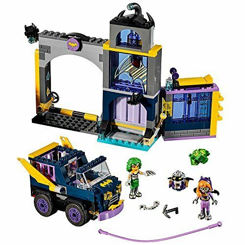 LEGO DC Super Hero Girls Batgirl Secret Bunker Building Kit (351 Piece)