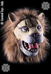 Maschera-Leone-Travestimento-Carnevale-Adulto-Animali-della-Savana