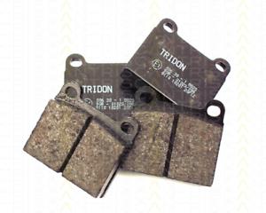 Bremsbelagsatz Scheibenbremse Triscan 8110 10201