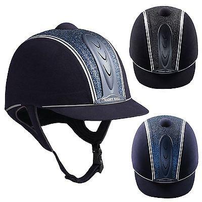 Simbolo Del Marchio Harry Hall Legend Cosmo Junior Pas015 Centrale Glitter Sicurezza Equitazione Cappello- Acquista Sempre Bene