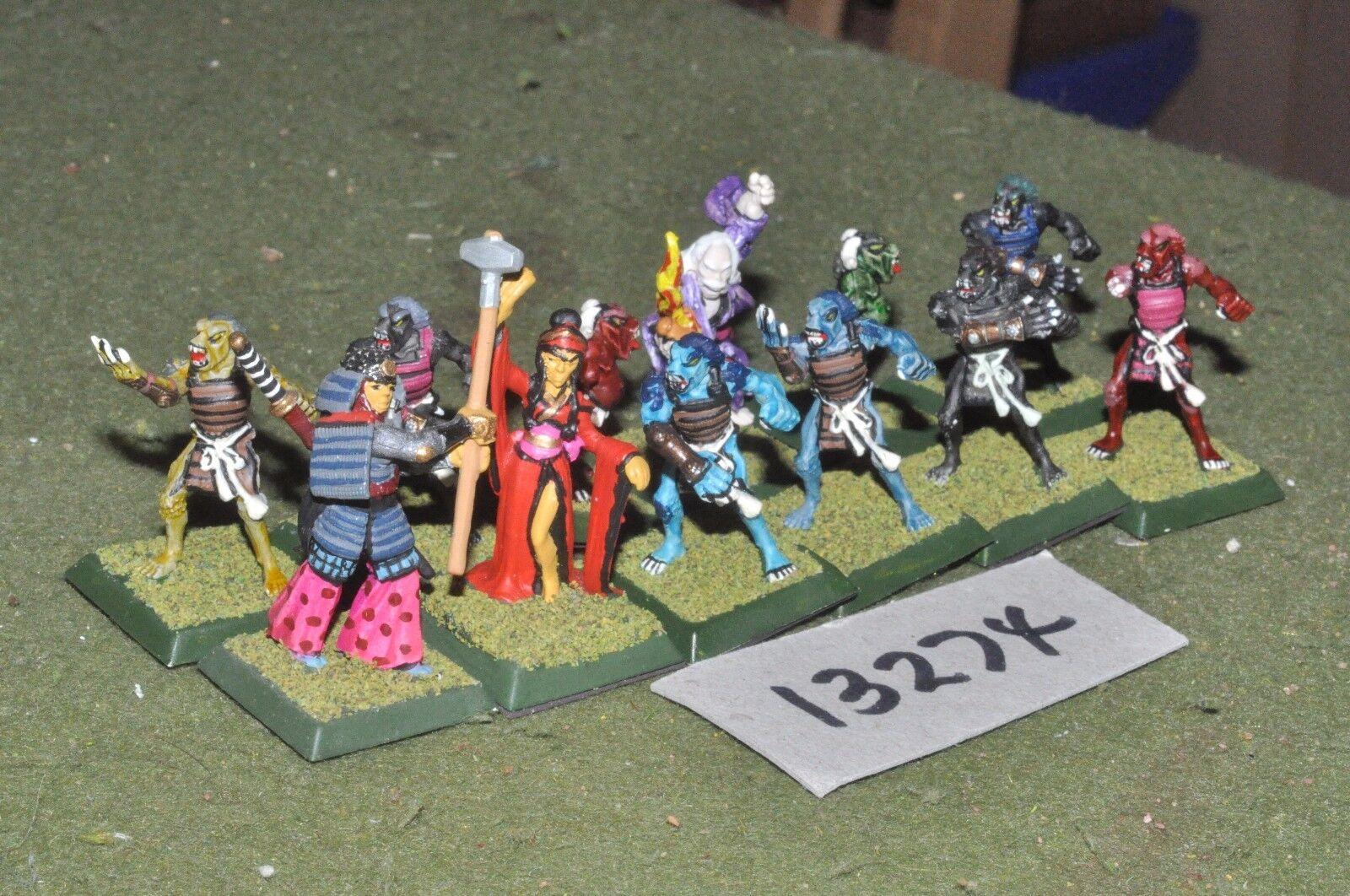 25mm japanese clan wars RPG 12 figures (13274)