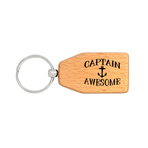 Wooden Keychain Novelty Name Tag Christmas Gift Jian