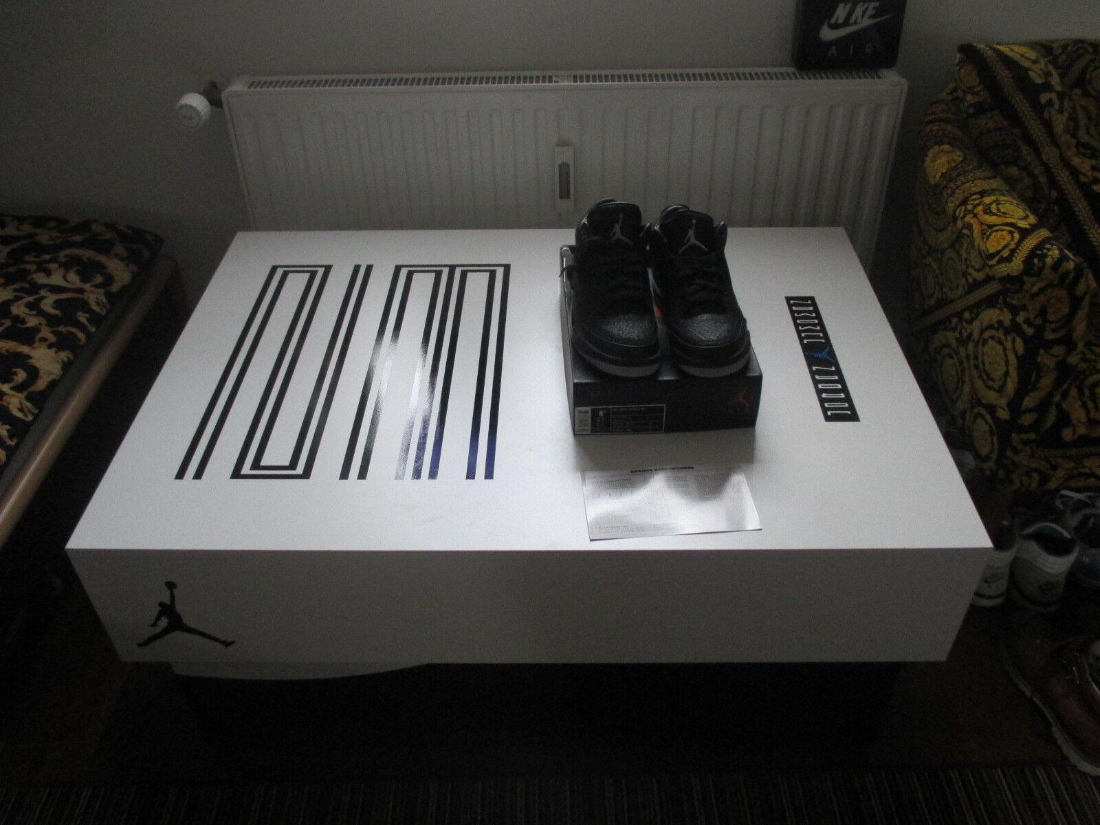 Nike Air Jordan Retro 3 Flip, Doernbecher, 42, nuevo, miedo, BHM, Doernbecher, Flip, cemento, criados, Ovo, yezzyqs marca de descuento 3d421a