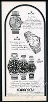 1979 Rolex Submariner Oysterdate Tudor Day-Date 5 watch vintage print ad