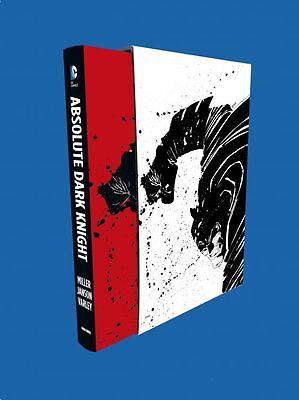 BATMAN:ABSOLUTE DARK KNIGHT (deutsch) LUXUS-HC m.Schuber FRANK MILLER 548 Seiten