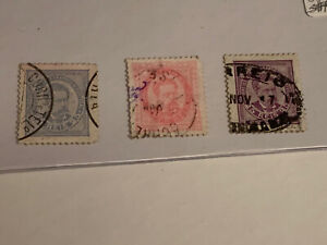 Portugal-Stamp-Lot-PA17-1887-A25-A26