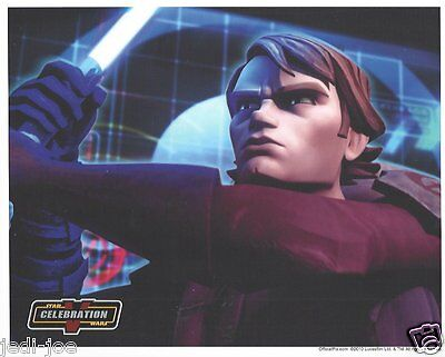 Anakin Skywalker Celebration V STAR WARS 8x10 Licenesed Photo OFFICIAL PIX
