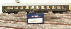 Heris-17031-4-H0-Schnellzugwagen-Bwxz-der-PKP-Epoche-4-5-sehr-gut-erhalten-rar