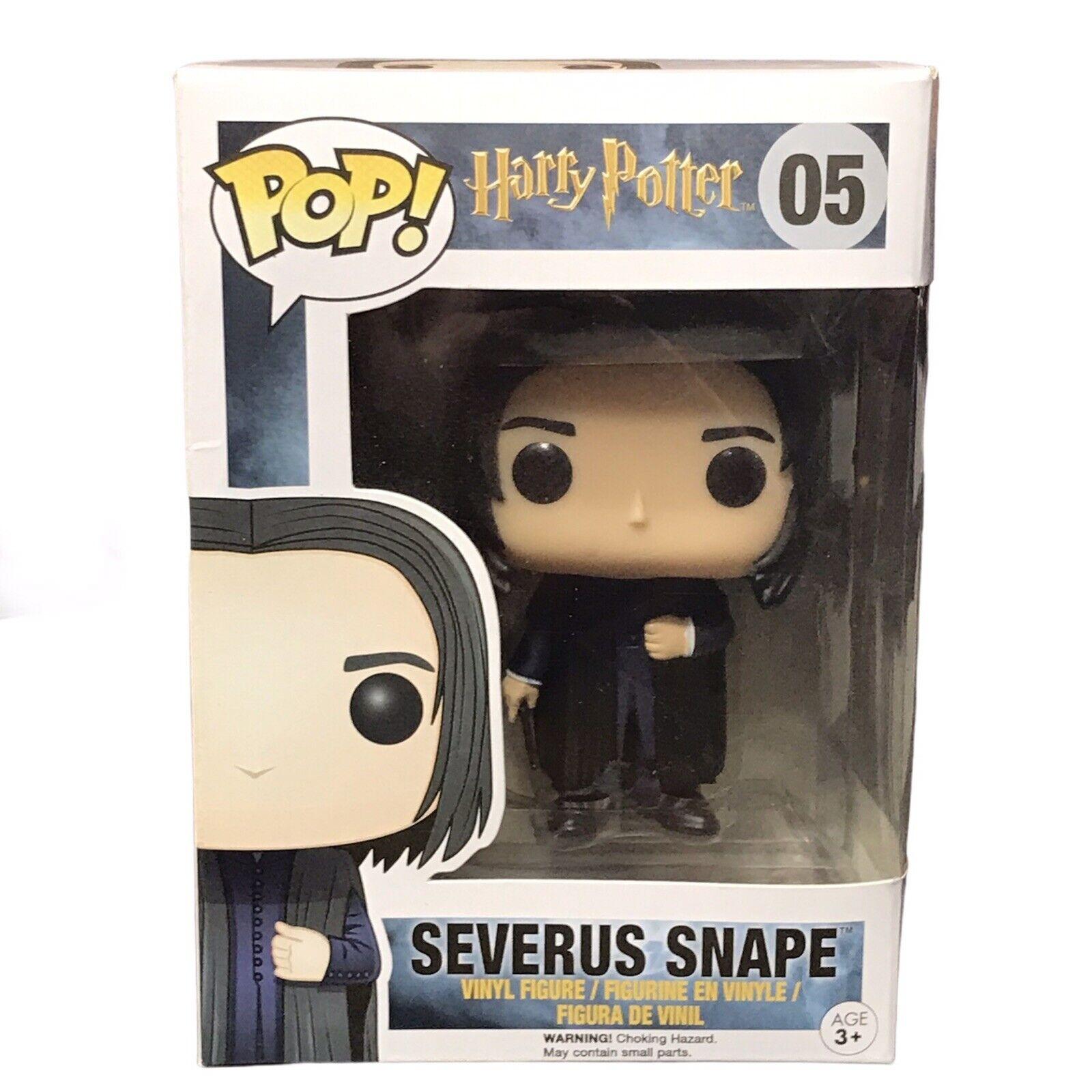 Funko Pop Harry Potter Professor Snape 05 NIB New Vinyl Figure Collectible