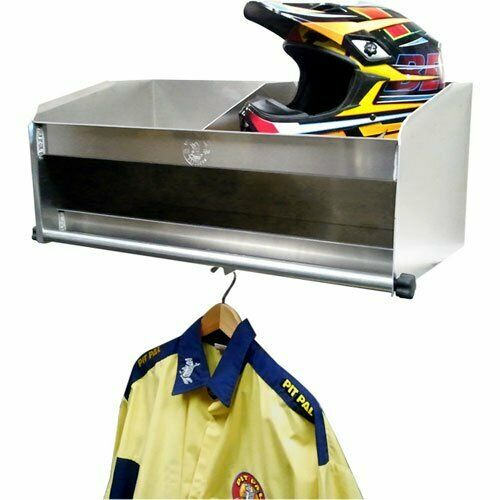 Pit Pal 331D Double Bay Helmet//Uniform Shelf