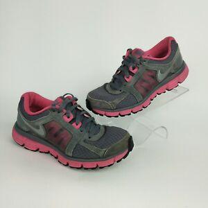 depositar el centro comercial Abundancia  Nike DUAL FUSION ST2 Womens Running Tennis Shoes PINK & GRAY Size 7.5   eBay