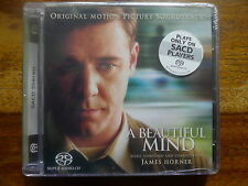 "JAMES HORNER ""A BEAUTIFUL MIND"" Mega rare SOLD OUT Surround SACD Super Audio CD"
