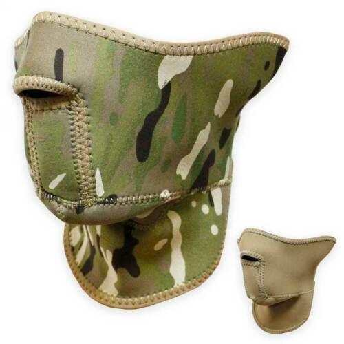 Bulldog Néoprène Demi Masque de protection militaire armée airsoft réversible