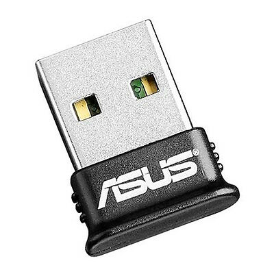 ASUS USB-BT400 Bluetooth USB Adapter Up to 3 Mbps Range 3 metres Black New