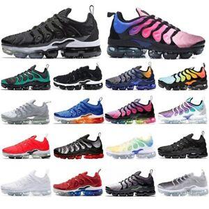 Athletic-Mens-Running-Shoes-TN-Plus-VM-In-Metallic-Black-Trainer-Vapor-Sneakers