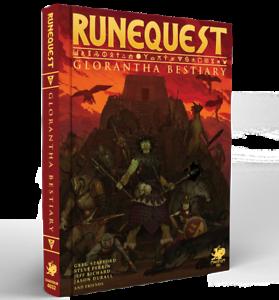 Brillant Runequest Rpg Rôle Dans Glorantha-bestiaire-neuf à Partir De Chaosium-afficher Le Titre D'origine Technologies SophistiquéEs