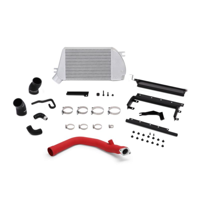 PERFORMANCE TOP-MOUNT INTERCOOLER/CHARGE-PIPE SYSTEM FOR WRX2015+RD PIPE SL CORE