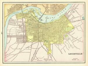 Details about Antique LOUISVILLE Kentucky Map 1900 Vintage City Map on university of kentucky, map jefferson county ky, map nicholasville ky, university of louisville, map jeffersonville in, map of central kentucky cities, map of downtown louisville, map radcliff ky, virginia beach, st. louis, map of abandoned coal mine in kentucky, map birmingham al, oklahoma city, map austin ky, map ashland ky, map memphis tn, ohio river, map harlan ky, map of downtown jeffersonville indiana, map henderson ky, little rock, map of kennedy expressway chicago il, des moines, map murray ky, map kenton county ky, bowling green, map of louisville kentucky and surrounding area, map bowling green ky,