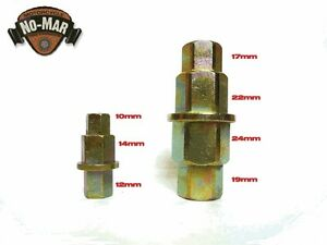 Hex Axle Tool Set 10mm 12mm 14mm 17mm 19mm 22mm 24mm Allen Wrench Adapter