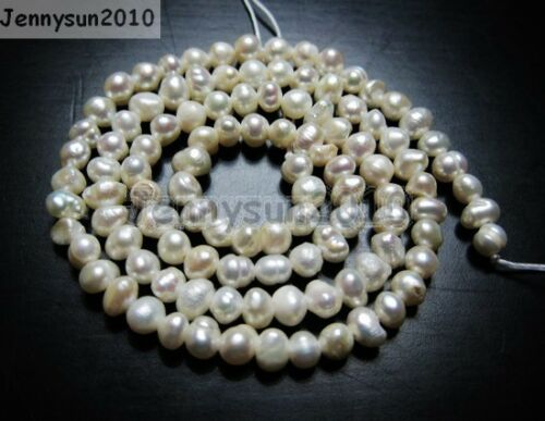 Natural Freshwater White Pearl Potato Beads 14/'/' 4mm 6mm 8mm 9mm 10mm 11mm 12mm