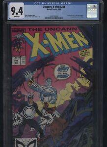 Uncanny X-Men #248 CGC 9.4 - first JIM LEE art in X-Men
