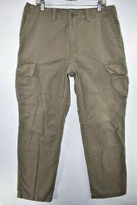 Nautica Pantalones Cargo Para Hombre Talla 36x34 Verde Meas 36x33 Oliva Ebay