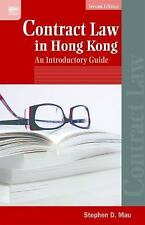CONTRACT LAW IN HONG KONG - MAU, STEPHEN D. - NEW PAPERBACK BOOK