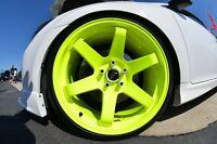 Neon Yellow Powder Coating Paint - NEW 1 LB
